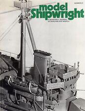 Model Shipwright No 21  (Conway 1977 1st)
