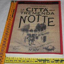 KIPLING Rudyard - LA CITTà DELLA TREMENDA NOTTE - Adelphi - libri usati