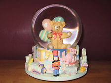 New Nursery Animated Musical Water Globe by San Francisco Music Box Co