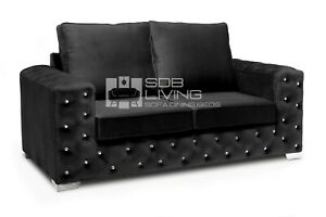 Ashton Chesterfield Luxury Style | Plush Black Collection | FULLBACK