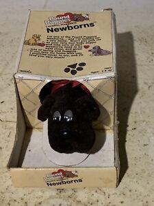 Vintage 1985 Pound Puppies Puppy Newborn With Original Box