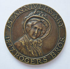 1922 ~ SO-CALLED DOLLAR HK 737 ~ 1847 ROGERS BROS ~ 75th ANNIVERSARY ~ GOOD LUCK