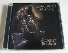 CD ALBUM SLAUGHTER PROPHECY SACRED STEEL 10 TITRES 2002