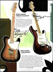 Fender Merle Haggard Telecaster Robin Trower Jeff Back Robert Cray Stratocaster