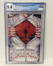 Peter Parker: The Spectacular Spiderman #1 CGC 9.4 Graded White Pages Comic Book