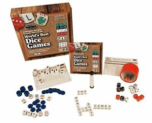 Front Porch Classics World Best Dice Board Game Ages 8+ New Toy Play Boys Girls