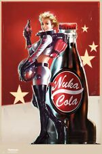 "FALLOUT 4 POSTER ""Nuka Cola"" LARGE SIZE 61 cm X 91.5 cm"