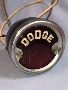 Dodge Brothers Vintage Tail Light 1927 1928 1929 1930 1931 1932 Hot Rat Rod
