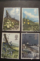 GB 1979 Commemorative Stamps~Flowers~Very Fine Used Set~(ex fdc)UK Seller