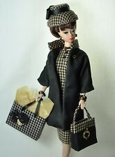 "Ooak Handmade vintage Barbie/Silkstone Fashion  11pc. ""Hectic Schedule"""