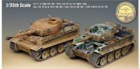 Academy  #13239 Plastic Model Kit Tank GERMAN TIGER-I EARLY VERSION 1/35