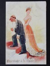 CYNICUS : mariage thème Marriage A LA MODE C1905