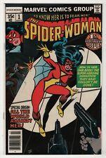 Spider-Woman #1 FN/VF 7.0 higher grade new origin & mask 1978 Marvel