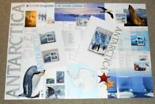 1990 Antarctica Australia & Russia Sg 1261-1262 map, book, mint stamps