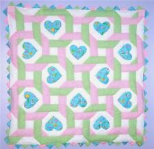 Love Bugs Intertwined Spring Time Baby Quilt Pattern