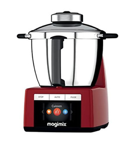 Magimix Cook Expert Multifunction Cooking Food Processor 18900 in Red