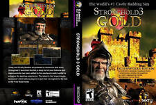 Stronghold 3 Gold Edition Brand New PC DVD-ROM Sealed Free Shipping USA seller