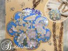 Vintage Chinese Export Cloisonne Enamel Bird Botanical Pendant Necklace
