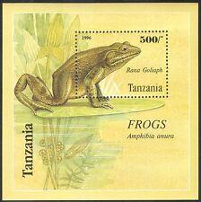 Tanzania 1996 Frogs/Nature/Amphibians/Wildlife/Animals/Conservation 1v m/s s2463