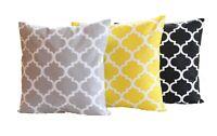 Kissenbezug Kissenhülle 40x40 50x50 17 Maße Kissen 100% Baumwolle Bezug Hülle