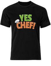 sí Chef Peculiar Frase Cocina BOSS BBQ NIGHMARE Camiseta Hombre Camiseta ad93