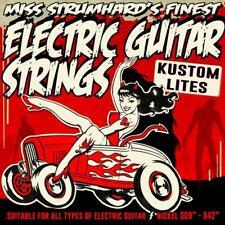 NEW! Miss Strumhard's Kustom Lite Nickel Electric Guitar Strings