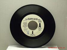 BOB MARLEY & THE WAILERS -(45)- PROMO COPY -  NO WOMAN, NO CRY(LIVE) / SAME-1975