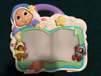 PLAYSKOOL LULLABY MUSICAL CRIB TOY LIGHTS & SONGS SLEEP NAP BABY CHILD BED WORKS