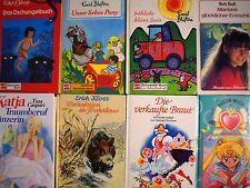 8 x Jugendbücher im Schneider Buch für Mädchen - Sammlung Paket Konvolut