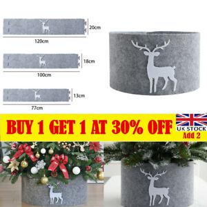 Christmas Tree Skirt New Year Home Decor Soft Xmas Tree Cover Party Decor UK