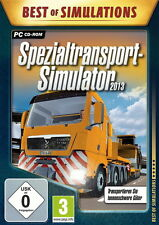 Transporte especial 2013 simulador para PC