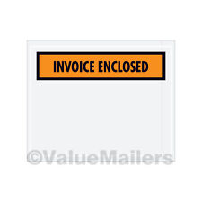 1000 4.5x6 (Invoice Enclosed front / Invoice Enclosed Packing List  Envelopes