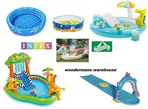 Outdoor Pools/Water Slides/Sprinklers/Inflatables by Index/Carousel - Brand New