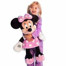"""New Disney Store Deluxe Minnie Mouse BIG Jumbo Large Plush 25"""" Gift Toy"""