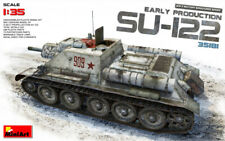 MiniArt 1/35 Scale - SU-122 Early Production Plastic Model Kit 35181