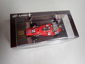 Mario Andretti Spark 1:43 1969 Indy Winner Brawner Hawk Indy 500 Race Car 50thAn