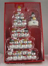 Hallmark CHRISTMAS CONCERT SNOWMAN TREE Musical Repaint Spcl Ltd Edition