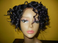 Freetress Equal Diagonal Part synthetic futura short curly lace Front OPDKPU