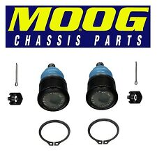 Isuzu Honda Acura Pair Set of 2 Front Lower Press-in Type Ball Joints Moog K9643