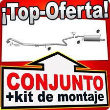 FORD FIESTA 1.4 TDCI Hatchback 68HP 12.2005-06.2008 Silencioso Silenciador X58