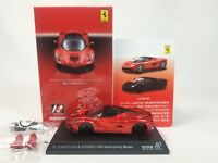 1:64 Kyosho Ferrari Minicar Collection 10th Anni LaFerrari Red Metallic Karuwaza