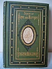 ANTIQUE SONGS OF HOME AND HAPPINESS POCKET BOOK T.NELSON AND SONS 1874 LONDON