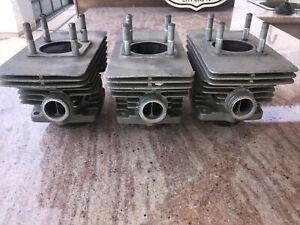 Suzuki GT 550 Triple 2 Stroke Cylinders With Original Standard Pistons