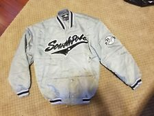 Vintage Southpole Baseball 21 Grey Winter Jacket size Mens M
