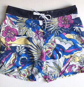 Panama Jack Swim Trunks, Groovy Beachfront, Size 34, Exc Condition