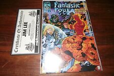 FANTASTIC FOUR #6 SIGNED BY JIM LEE WITH COA DR DOOM