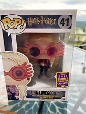 Harry Potter FUNKO Pop! Luna Lovegood #41 2017 Summer Convention Exclusive