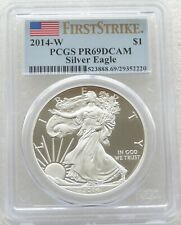 2014-W United States Liberty Eagle $1 One Dollar Silver Proof 1oz Coin PCGS PR69