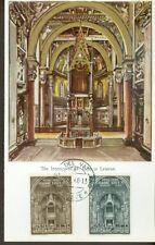 Vatican City Sc#273-4: First Roman Synod on Maxi Card