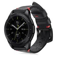 For Samsung Galaxy Watch 42mm SM-R810/SM-R815 Leather Bracelet Strap Wrist Bands